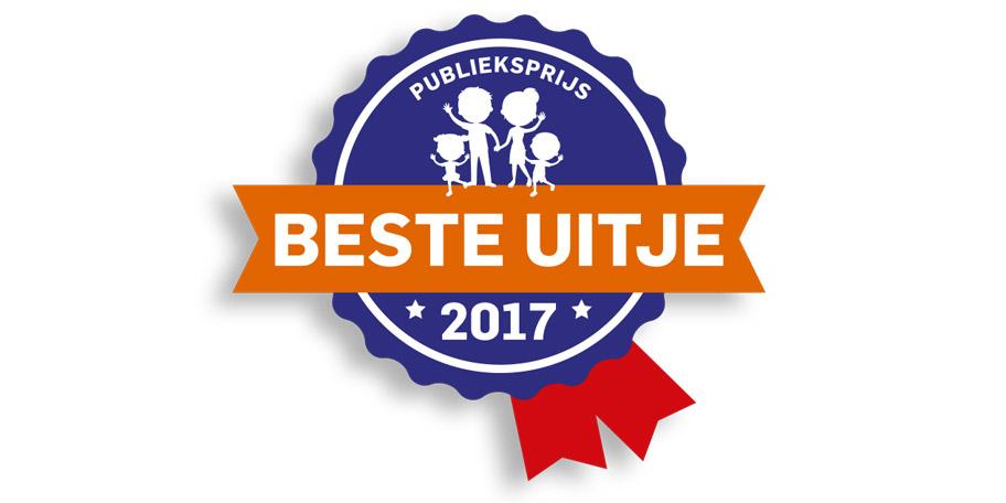 Klimbos Garderen 2e in Beste Uitje van Nederland 2017 award