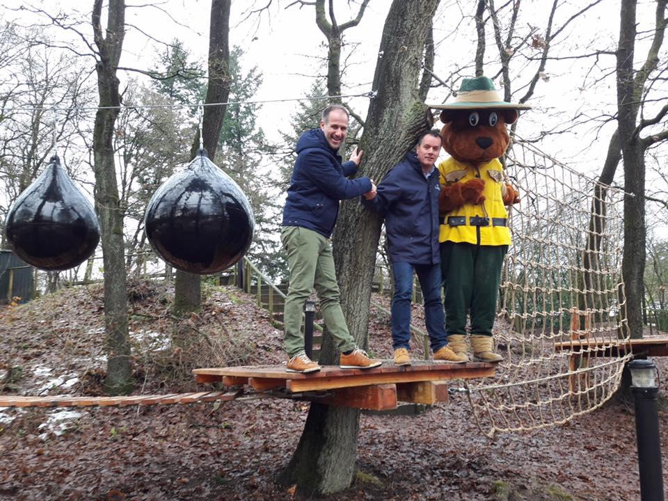 Klimbos Garderen zet bijzondere samenwerking op met vakantiepark Landal Rabbit Hill