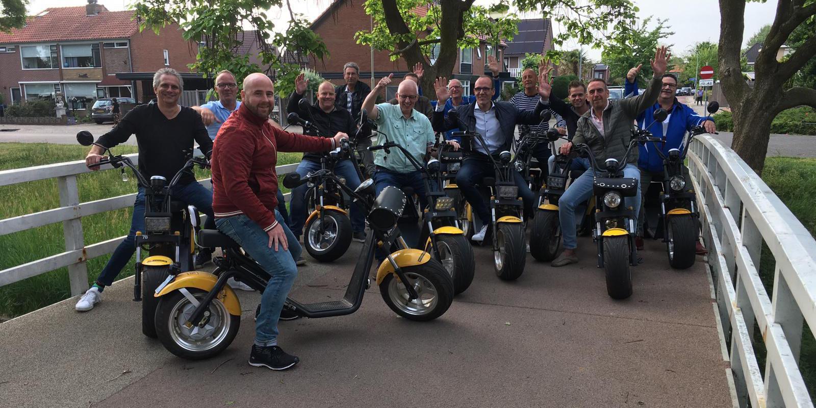 Businessleden VVOG te gast bij Adventurepark Harderwijk